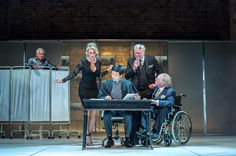 Henry Goodman as Volpone, Annette McLaughlin as Lady Politic Would-Be, Orion Lee as Mosca, Matthew Kelly as Corvino and Geoffrey Freshwater as Corbaccio.