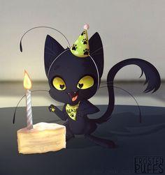 Plagg's birthday~ (Miraculous ladybug, kwami)