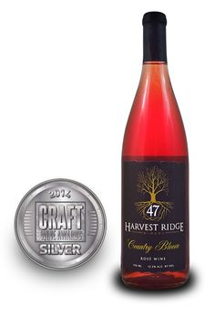 Craft Wine Awards 2014 | Harvest Ridge Winery Country Bloom Rose