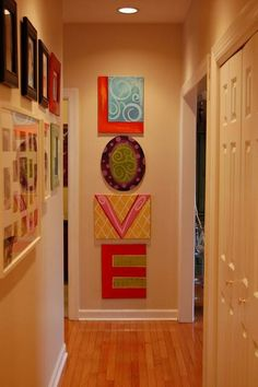 Super cute! Mine would need to have different colors to coordinate with the rest of my decor but I love those colors!