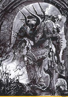 Warhammer 40000,warhammer40000, warhammer40k, warhammer 40k, ваха, сорокотысячник,фэндомы,undivided,Chaos (Wh 40000),удалённое