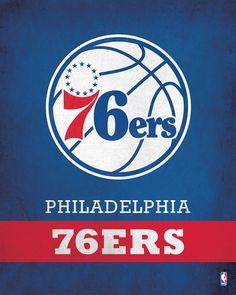 Philadelphia 76ers Logo $24.99