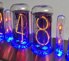 IN-18 Nixie tube tubes for Clock NEW - date code matched sets LOOK! for kit   eBay