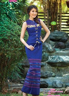 Myanmar Dress Design 2015 Myanmar Traditional Dress
