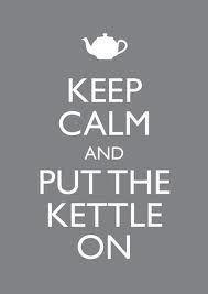 morning musing || 13 december || drink tea, lots