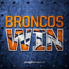Broncos 34, Colts 20!