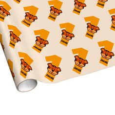 1st Birthday TIGER One Year Old Gift Wrap First