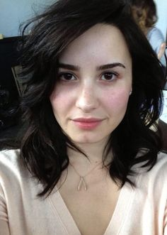 Demi Lovato without makeup! true beauty!