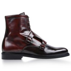Leather Ankler Boots by Carven