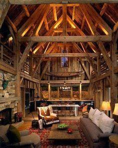 Beautiful exposed timber trusses  . . . _________________________ #design #art #artist #creative #industrialdesign #designstudio #designinspiration #furniture #furnituredesign #beautiful #homedecor #woodworking #woodwork #woodshop #craft #diy #woodcraft #tools #carpenter #carpentry #chisel #handplane #roubo #dovetails #workbench #handtools #handmade #woodcarving #logcabin