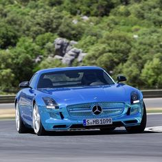 The electric Mercedes SLS we love this car!