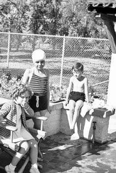 Shirley Temple at Palm Springs, 1935.