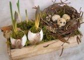 Desať dezertov s mascarpone pre víkendovú pohodu - Žena SME Serviettes Roses, Easter Crafts, Grapevine Wreath, Diy Gifts, Decoration, Diy And Crafts, Weaving, Food And Drink, Home Decor