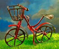 Miniature Bicycle - Red - $6.50