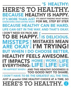 The @Greatist health and fitness manifesto!