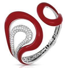Belle Étoile Vapeur Red Bangle