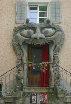 How to make an entrance! door way monster Doors doorway portal Cool Doors, Unique Doors, Entrance Doors, Doorway, Grand Entrance, Wood Exterior Door, When One Door Closes, Knobs And Knockers, Door Gate