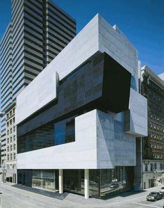 Zaha Hadid's Museum of Art- Cincinnati, OH