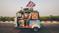 The Rickshaw Run. So so doing this! Photo by Mr. Ben Brown, his pictures are epic.
