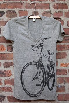 Hey, I found this really awesome Etsy listing at http://www.etsy.com/listing/153154517/bike-art-crescent-bicycle-v-neck-t