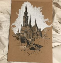Gcse Art Sketchbook Paper 15 Ideas For 2019 Architecture Drawing Art, Architecture Sketchbook, Art Sketchbook, Famous Architecture, Urban Architecture, Paper Drawing, Painting & Drawing, Paper Art, Kunst Inspo