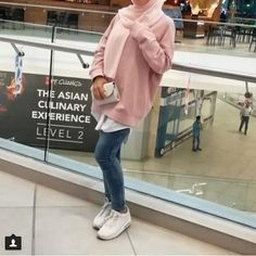 Pinky cute hijab outfits – Just Trendy Girls