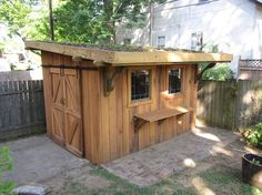 Green roof garden shed - eclectic - garage and shed - louisville - Graham Design and Construction