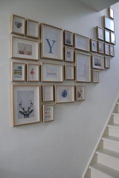 Binnenkijken bij aboutloes - De juiste decoratie vinden voor een muur langs de…