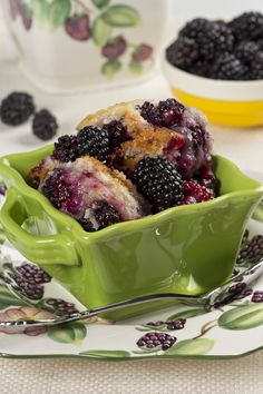 There's nothing like a fresh blackberry cobbler, and this one is super simple thanks to a shortcut ingredient: biscuit baking mix!