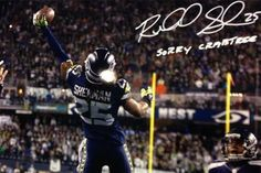 """Richard Sherman Is Signing Autographs with """"Sorry Crabtree"""""""