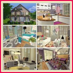 Sweet Family House at Dinha Gamer via Sims 4 Updates