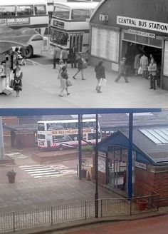 just found this wich i thought i would share with you all, can anybody tell me the year it was taken? Sheffield Steel, Sheffield England, South Yorkshire, Bus Station, Historical Images, Busses, Local History, Back In Time, Heaven On Earth
