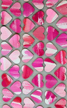 Valentine's Day Idea - Watercolor Hearts for Valentine My Funny Valentine, Love Valentines, Valentine Day Cards, Valentine Hearts, Valentine Ideas, Heart Day, I Love Heart, Heart Month, Watercolor Heart