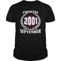 September 2001 Shirts Princess are born in September 2001 Tshirts Princess Sunfrog Guys ladies tees Hoodie Sweat Vneck Birth year Shirt for Men and women #gift #ideas #Popular #Everything #Videos #Shop #Animals #pets #Architecture #Art #Cars #motorcycles #Celebrities #DIY #crafts #Design #Education #Entertainment #Food #drink #Gardening #Geek #Hair #beauty #Health #fitness #History #Holidays #events #Home decor #Humor #Illustrations #posters #Kids #parenting #Men #Outdoors #Photography…