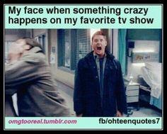Usually supernatural
