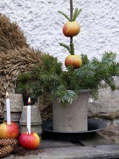 Ideas y inspiración para deco exterior #Navidad #Affari #estilonordico