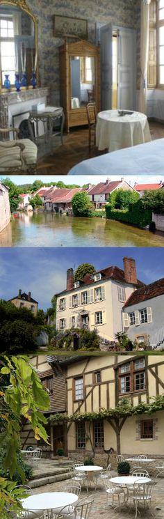 Romantisch overnachten in de regio Aube van de Champagne-Ardenne