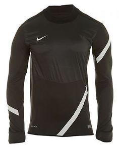 NIKE FOOTBALL/SOCCER ACTIVE SHIRT MEN'S  Active Shirts 419225-010 CHARCOAL SZ-M