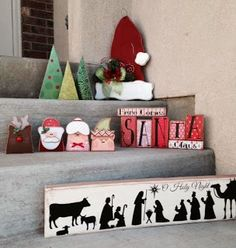 SAWDUST SANITY Wooden Christmas Crafts