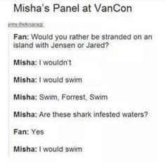 swim, forrest, swim