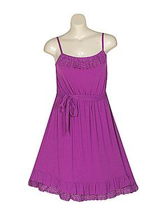 This Purple Gem sundress by Ruby Rox is perfect for lunch with the girls after a day at the beach