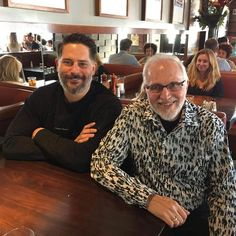 "421 Likes, 3 Comments - Detective Comic Cinema (@dc_cinema) on Instagram: ""Joe Manganiello had lunch with Deathstroke creator Marv Wolfman.  #Batman #Superman #WonderWoman…"""