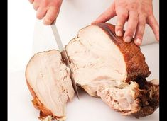 This Thanksgiving, you'll actually know what you're doing with that carving knife. Turkey Recipes, New Recipes, Chicken Recipes, Cooking Recipes, Cooking Tips, Thanksgiving Turkey, Thanksgiving Recipes, Holiday Recipes, Hosting Thanksgiving