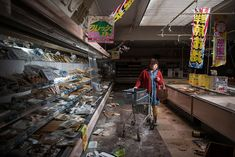 Fukushima's Former Residents Return Home To Ghost Town In Emotional Photos