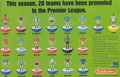 Subbuteo advert