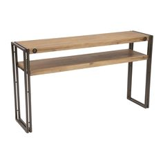Shop Moe's Home Collection  WN-1014-20 Brooklyn Console Table at The Mine. Browse our sofa tables, all with free shipping and best price guaranteed.