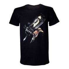 Assassins Creed Iv Black Flag Adult Male Hidden This black premium quality t-shirt is made from cotton for a long lasting fit is professionally stitched and has a officially licensed merchandise design featuring the hidden blade carried by the brot http://www.MightGet.com/march-2017-1/assassins-creed-iv-black-flag-adult-male-hidden.asp