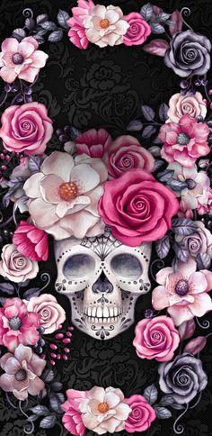Skull wallpaper iphone, sugar skull wallpaper и skull. Skull Wallpaper Iphone, Sugar Skull Wallpaper, Sugar Skull Artwork, Cellphone Wallpaper, Sugar Skulls, Candy Skulls, Sassy Wallpaper, Trendy Wallpaper, Cute Wallpapers