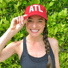 Loving my ATL Atlanta Aviate hat! This red baseball cap pairs perfectly with a t-shirt and jeans and all of my Atlanta sports teams all year! Atlanta Falcons, Atlanta Hawks, Atlanta Braves, and the new addition Atlanta United! This will be a piece to add to all my gameday fashions! Check them out at shopaviate.com so you can represent what city you're from too!