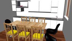 progetto: cucina abitabile